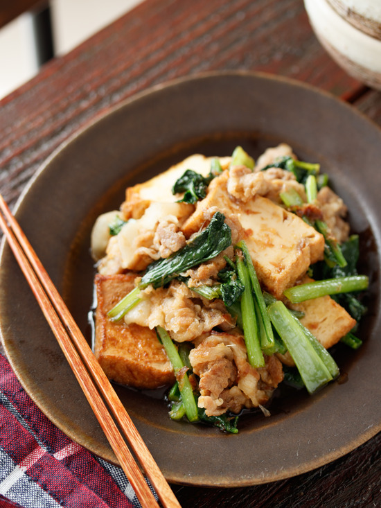 豚バラ小松菜7