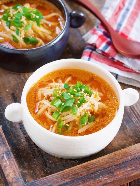 もやしスープ12