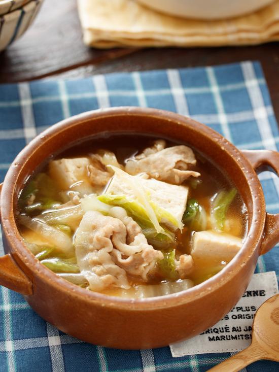 豚バラ白菜スープ2