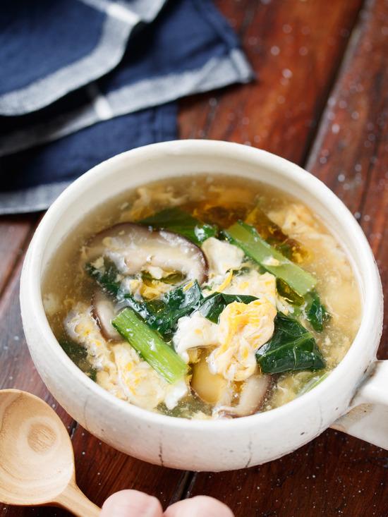 小松菜スープ2