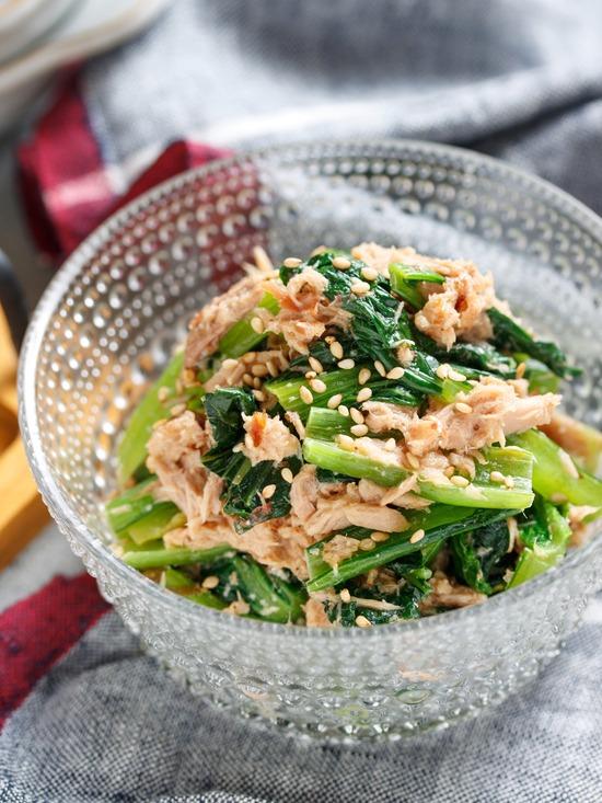 小松菜サラダ1