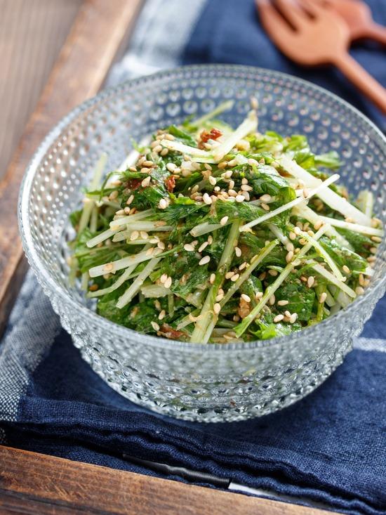 水菜ナムル2