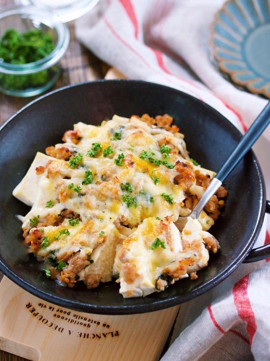 肉味噌豆腐グラタン15