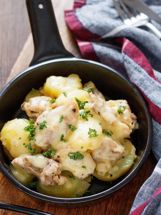 チキンとポテトのチーズ焼き2