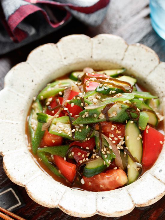 夏野菜塩昆布4