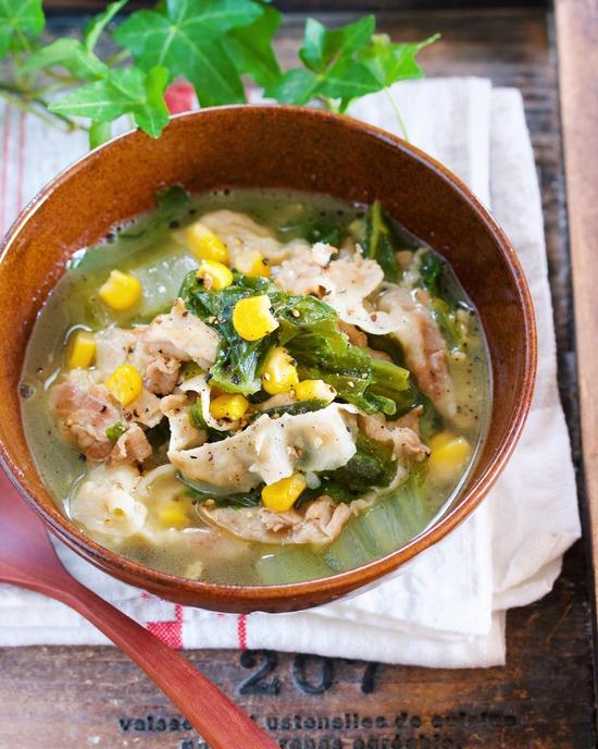 味噌バタースープ15