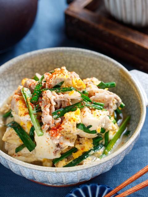 肉 豆腐 レンジ