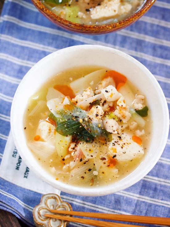 長ねぎスープ16