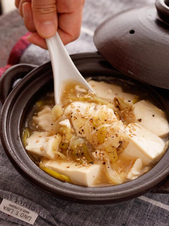 ネギ塩豆腐4