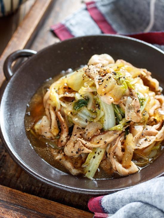豚バラ白菜レシピ5