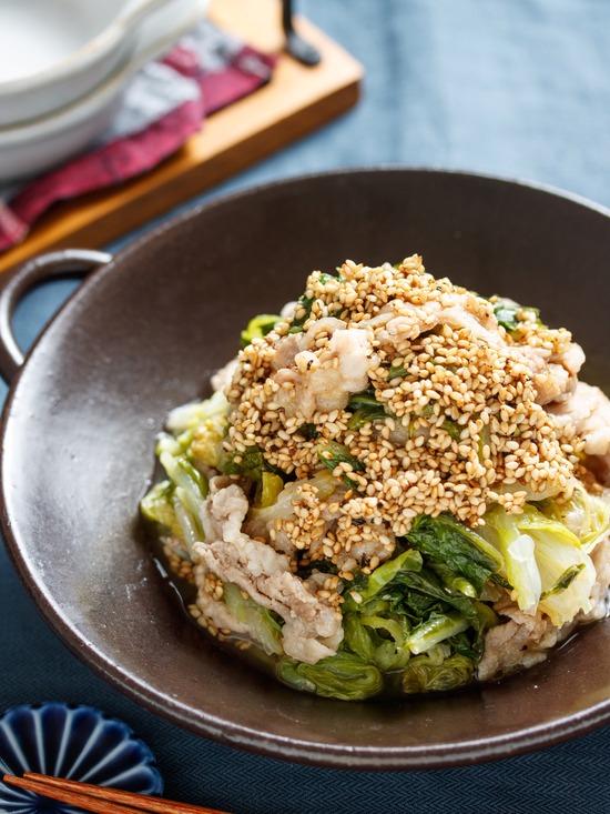 豚バラ白菜6