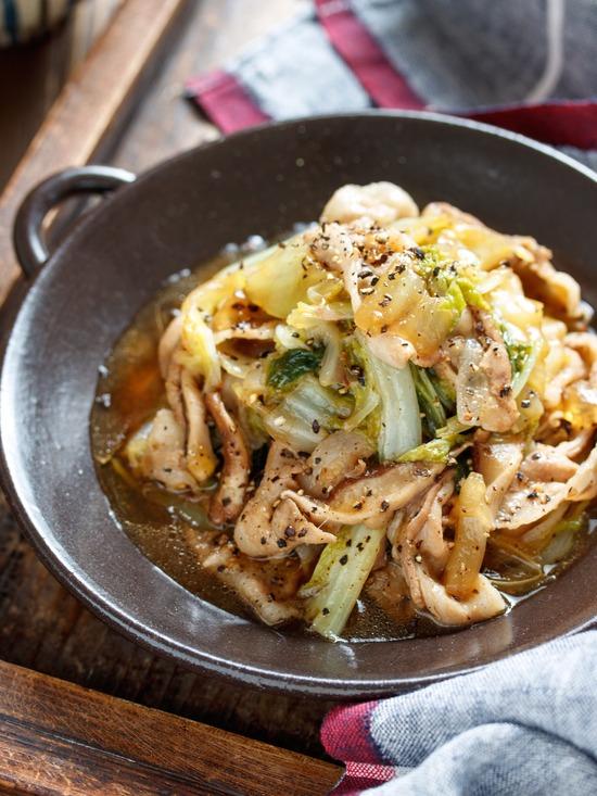豚バラ白菜レシピ4