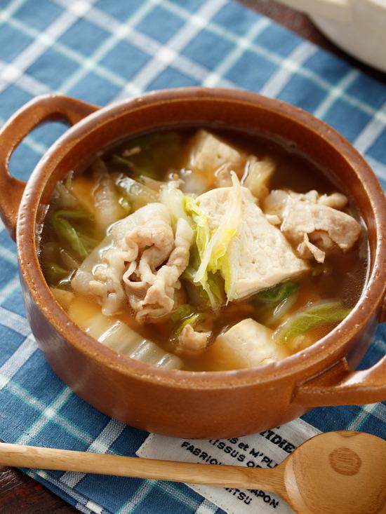 豚バラ白菜スープ7