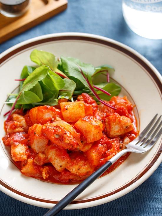 鶏大根トマト2