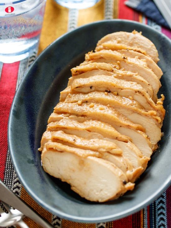 ガーリック醤油チキン6