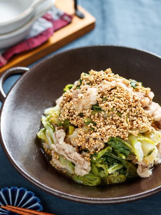 豚バラ白菜7