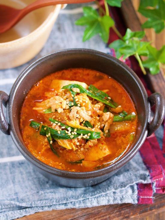 豆腐キムチスープ11