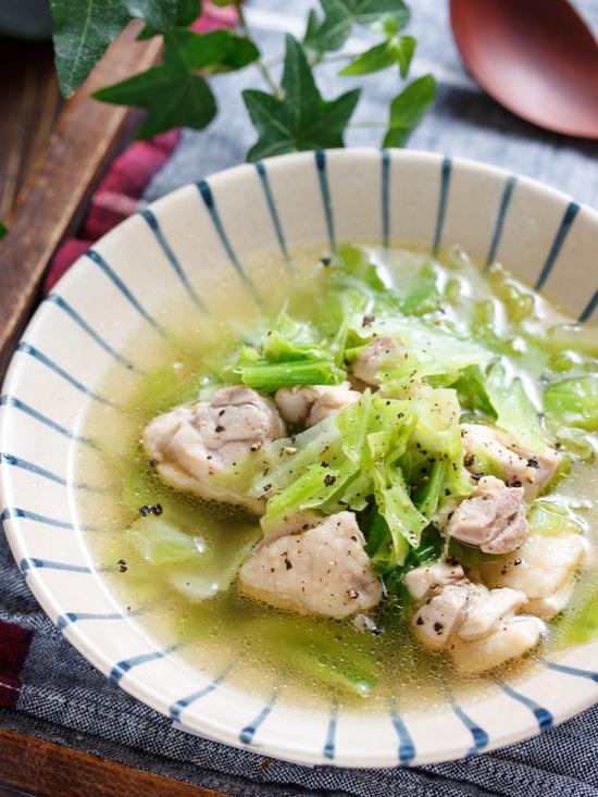 鶏キャベツスープ2