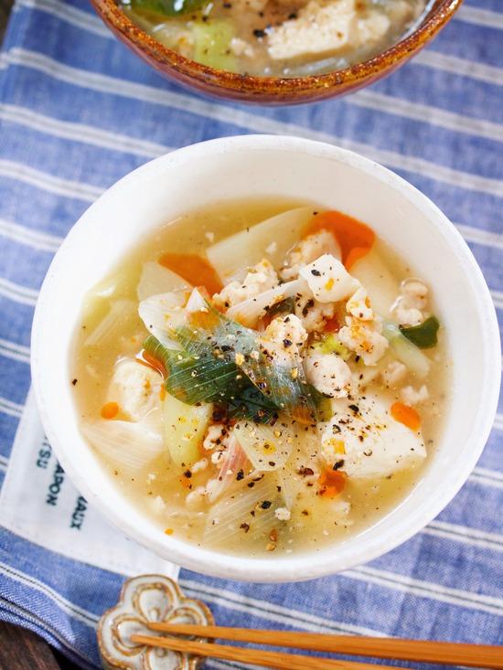 長ねぎスープ7