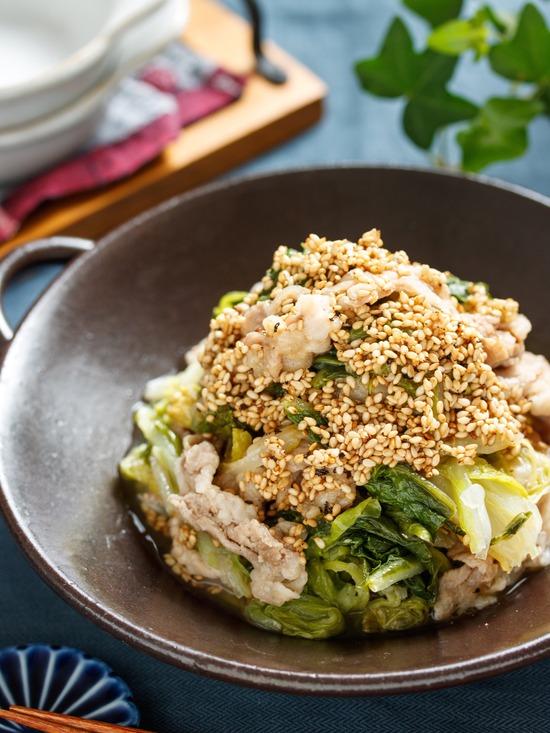 豚バラ白菜4