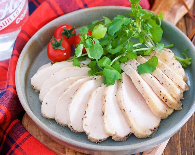 コンソメ鶏ハム9