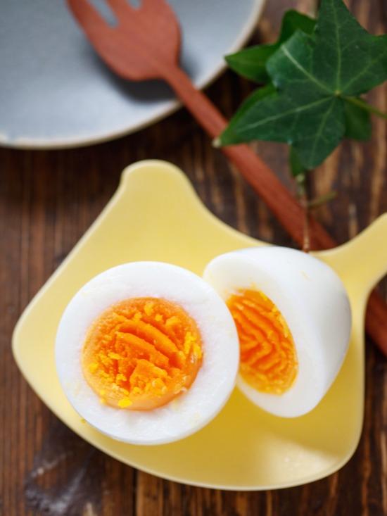 塩ゆで卵2