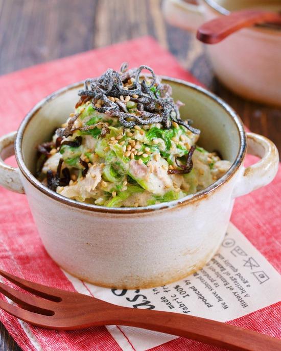 白菜ツナごまマヨ塩17