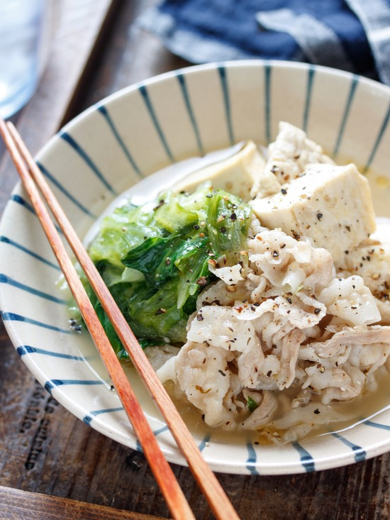 塩ダレ肉豆腐8