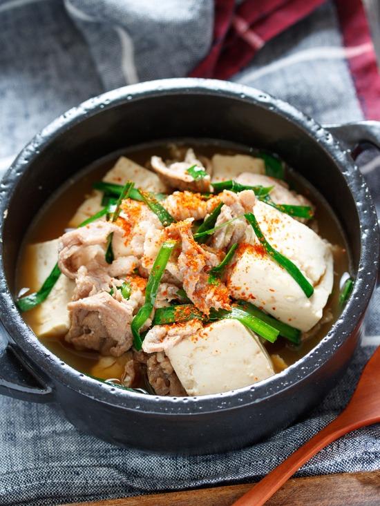 レンジ肉豆腐2