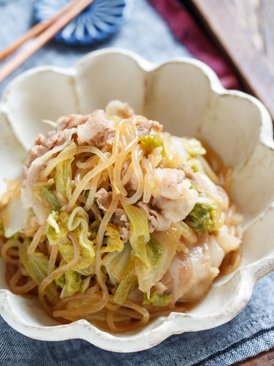 豚バラ白菜すき焼き11