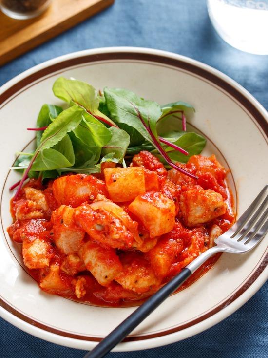 鶏大根トマト1