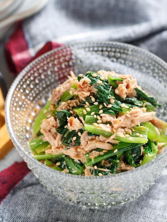小松菜サラダ2