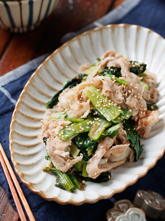 豚バラ小松菜4
