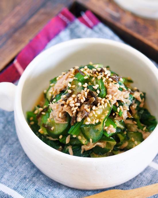 小松菜きゅうり11