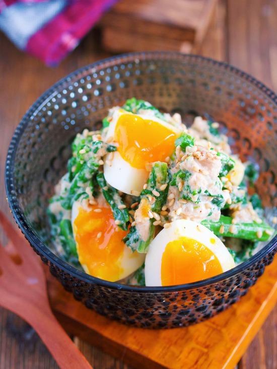 菜の花卵11