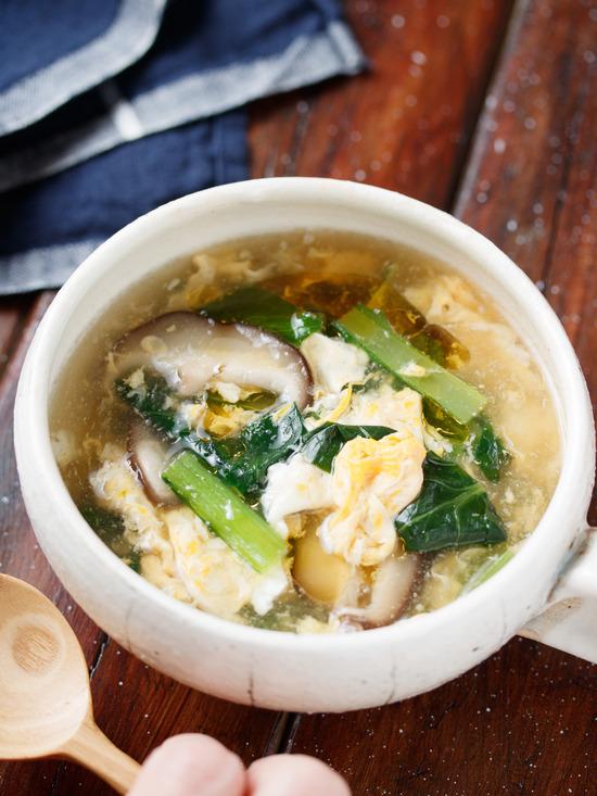小松菜スープ6