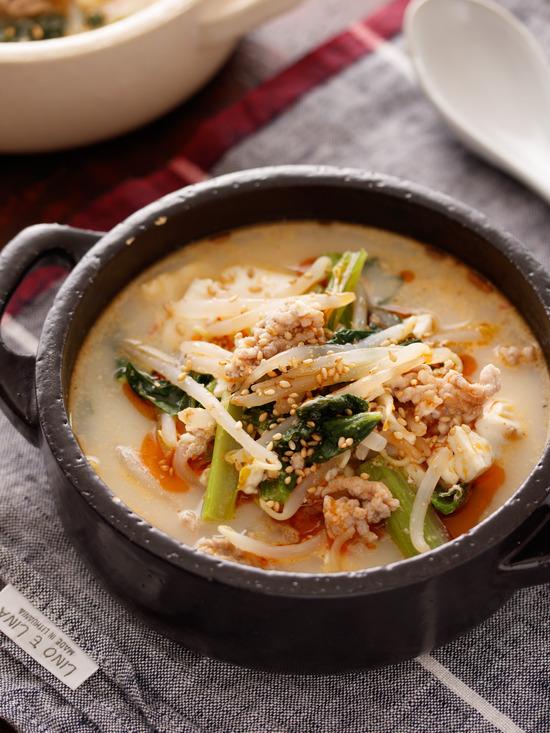 坦々スープ8