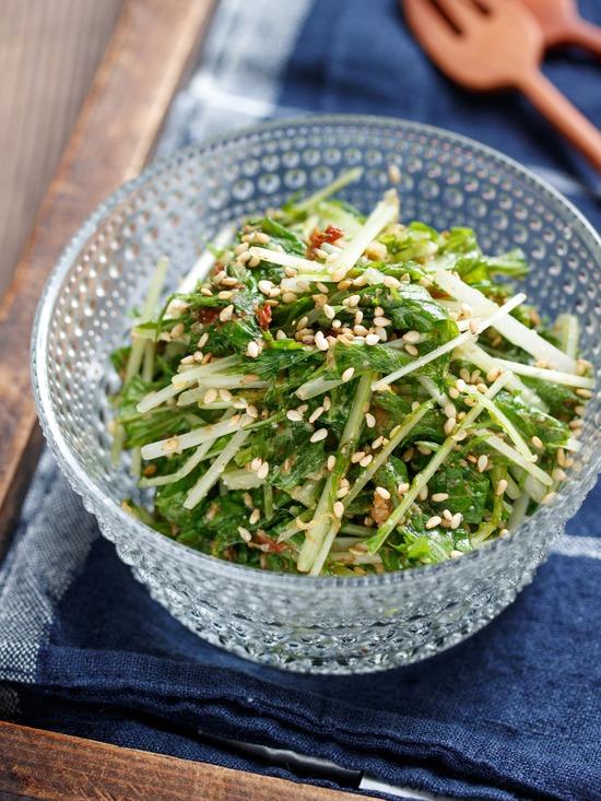 水菜ナムル6