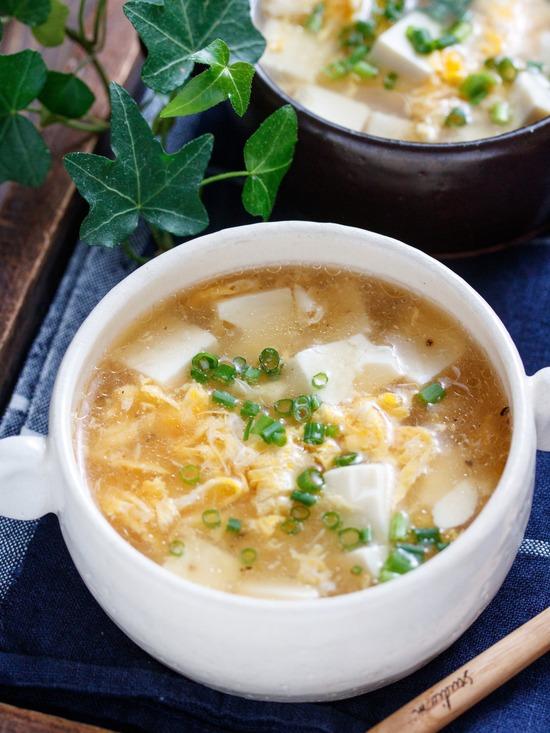 豆腐とろみスープ3