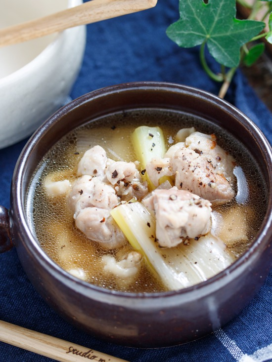 とりねぎスープ1
