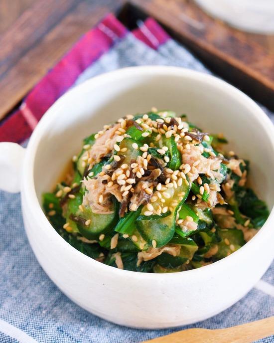 小松菜きゅうり9