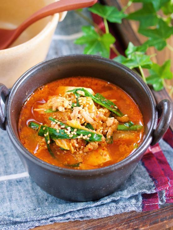 豆腐キムチスープ6