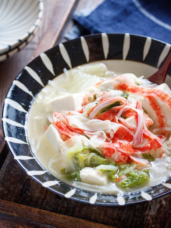 豆腐白菜カニカマ3