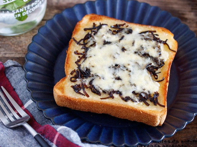 しそ昆布トースト6