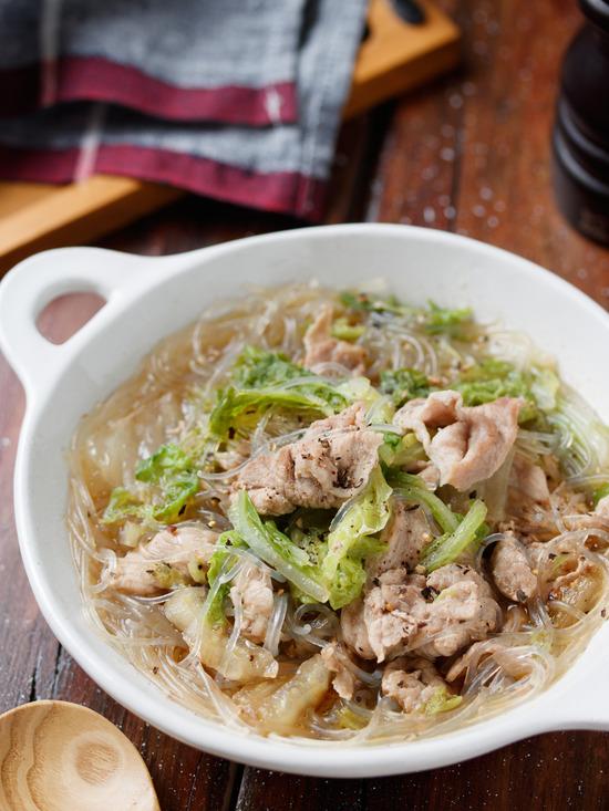 豚こまスープ2