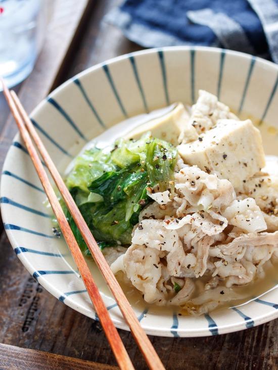 塩ダレ肉豆腐9