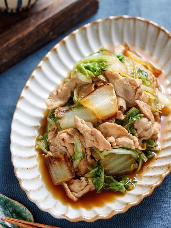 豚バラ焼き白菜9