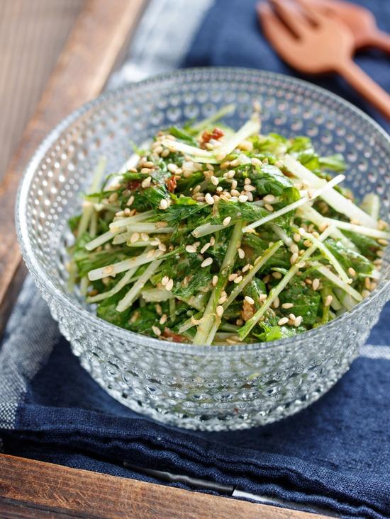 水菜ナムル3