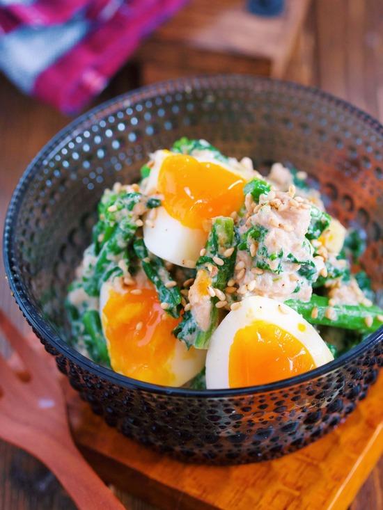 菜の花卵4