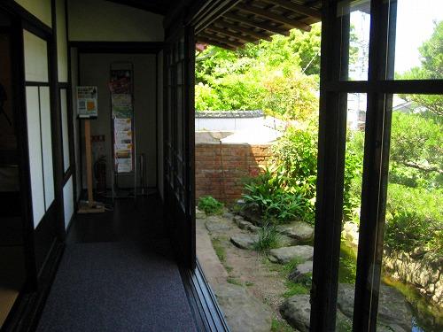 亀山社中縁側